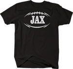 JAX JACKSONVILLE Football Flag Tackle Home Team Edition