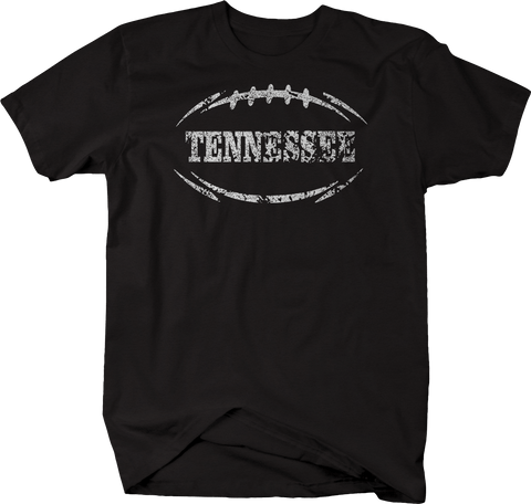 Distressed - TENNESSEE Football Flag Tackle Home Team Edition