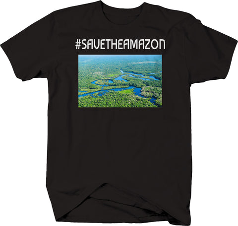 Hashtag Save the Amazon Rainforest T-Shirt
