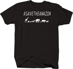 Hashtag Save the Amazon Animals T-Shirt