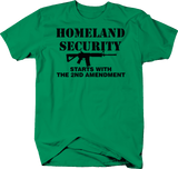 Homeland Security Starts 2nd Amendment AR15 Rifle Gun NRA