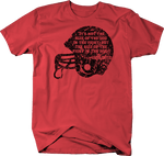 Distressed - Football Size of the Dog Fight Archie Griffin