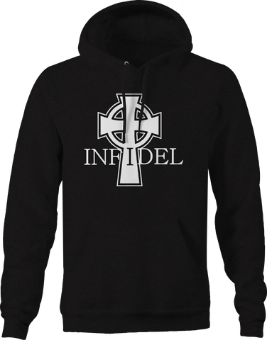 Infidel Celtic Cross Military Religion