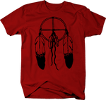 American Indian Dream Catcher Feathers