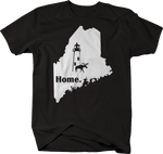 Maine Moose Lighthouse Home State Edition