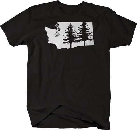 Washington Pine Trees Home State Edition