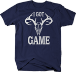 I Got Game Hunting Deer Hunter Skull Antlers