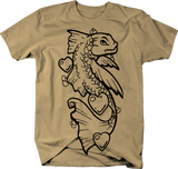 Koi Fish Dragon Hearts Asian Legend