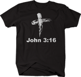 John 3:16 Bible Verse God Cross