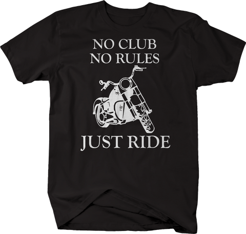 Motorcycle - No Club No Rules Just Ride