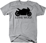 Motorcycle - Lone Wolf - Riding Solo Street Bike