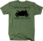 Motorcycle - Live to Ride, Ride to Live - Street Bike
