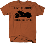 Motorcycle - Live to Ride, Ride to Live - Cruiser