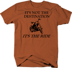 Motorcycle - Not the Destination - It's the Ride