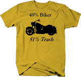 Motorcycle - 49% Biker 51% Trash Cruiser