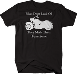 Motorcycle - Bikes Don't Leak Oil - Mark Territory Cruiser
