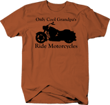 Only Cool Grandpa's Ride Motorcycles - Custom Bike