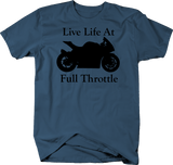 Motorcycle - Live Life at Full Throttle - Street Sport Bike