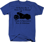 Motorcycle - Rather be a Rider than Spectator - Custom Cruiser