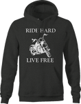 Motorcycle - Ride Hard Live Free - Custom Bike