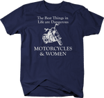 Motorcycles & Women - Best Things are Dangerous - Custom Bike