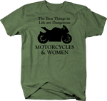 Motorcycles & Women - Best Things are Dangerous - Street Sport Bike