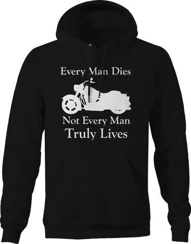 Every Man Dies - Not Truly Lives - Custom Cruiser Motorcycle