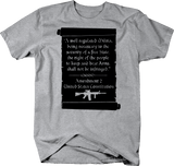 2nd Amendment 2A Gun Rights Quote Military Defense