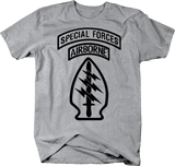 Special Forces Airborne Tabs Military