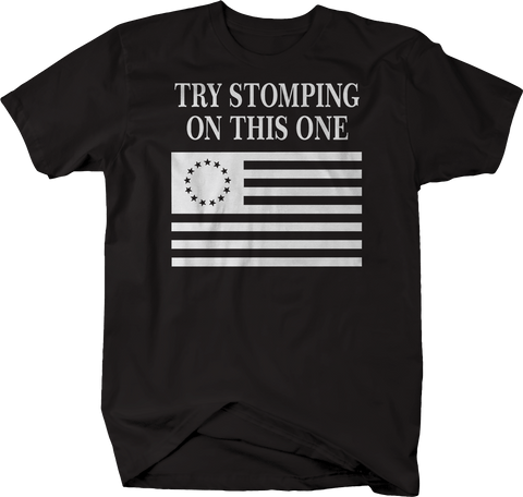 Try Stomping on This One Flag 3% Biker Military Police