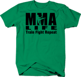 MMA Life Train Fight Repeat UFC Punch Kick