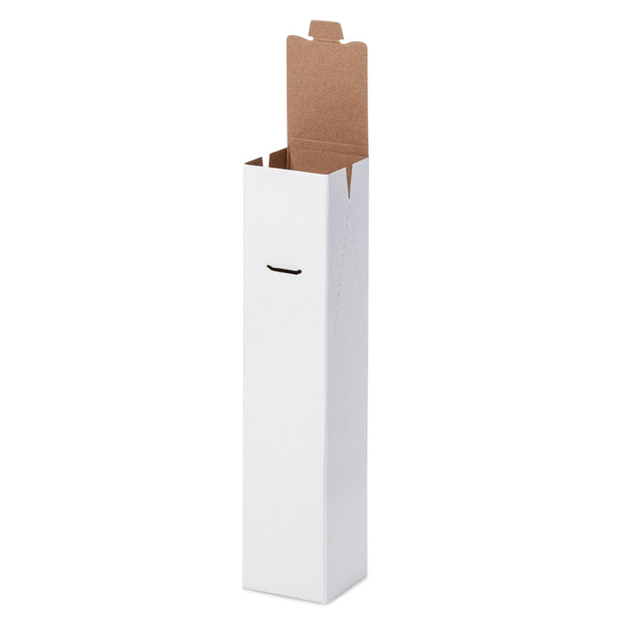 1 Bottle Gable Top Wine Box - White - Sample
