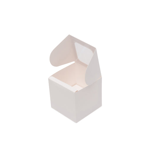 One Cupcake Box - White