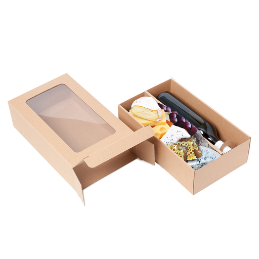 Mini Gourmet Display Box - Kraft - Sample