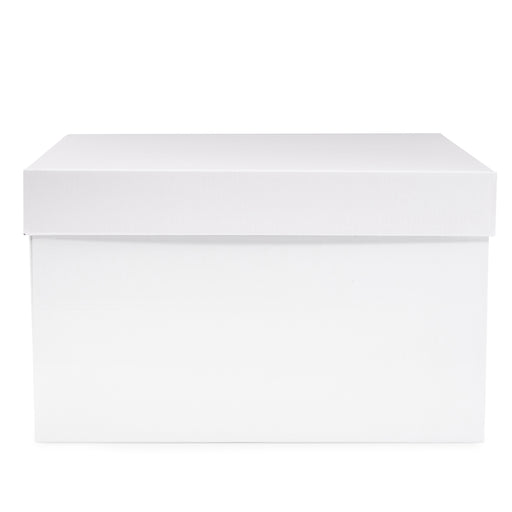 360 Hamper Box - White