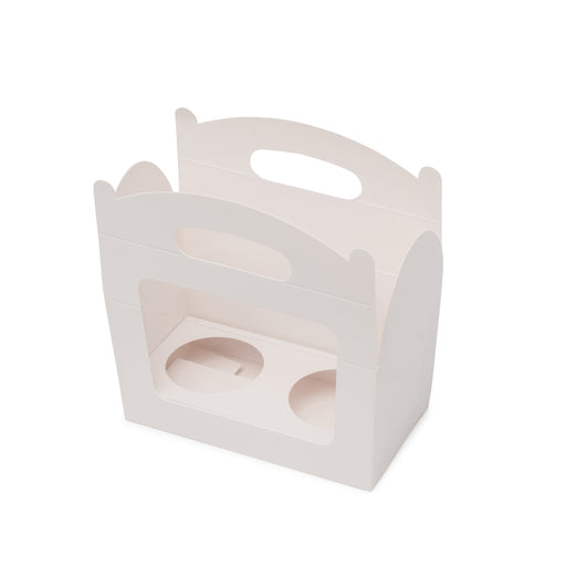 Amelia 2 Cupcake Carry Box - White