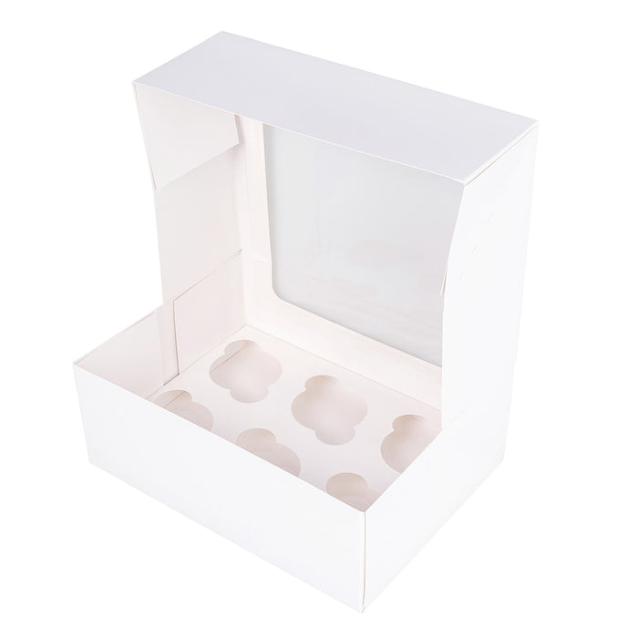 Six Cupcake Box L'Artisan - White