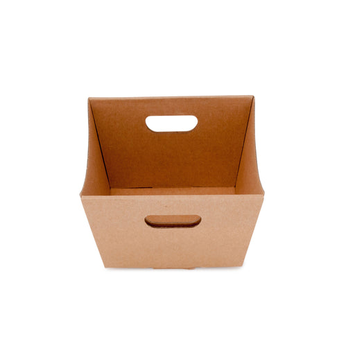 Small Deluxe Hamper Tray - Kraft
