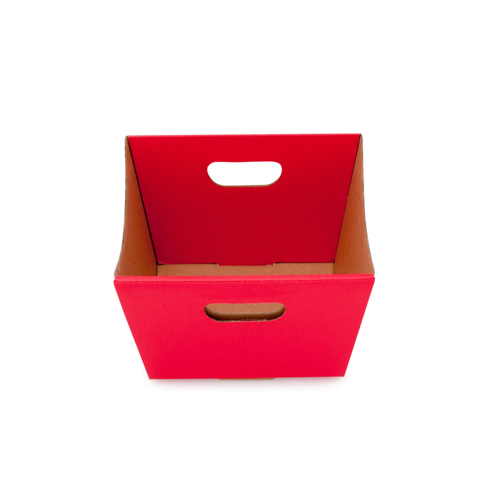 Small Deluxe Hamper Tray - Red