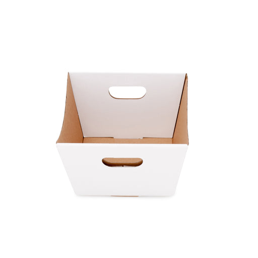 Small Deluxe Hamper Tray - White