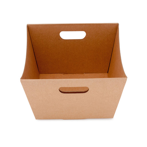 Medium Deluxe Hamper Tray - Kraft