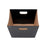 Medium Deluxe Hamper Tray - Black