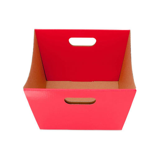 Medium Deluxe Hamper Tray - Red