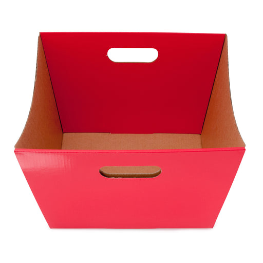 Large Deluxe Hamper Tray - Red