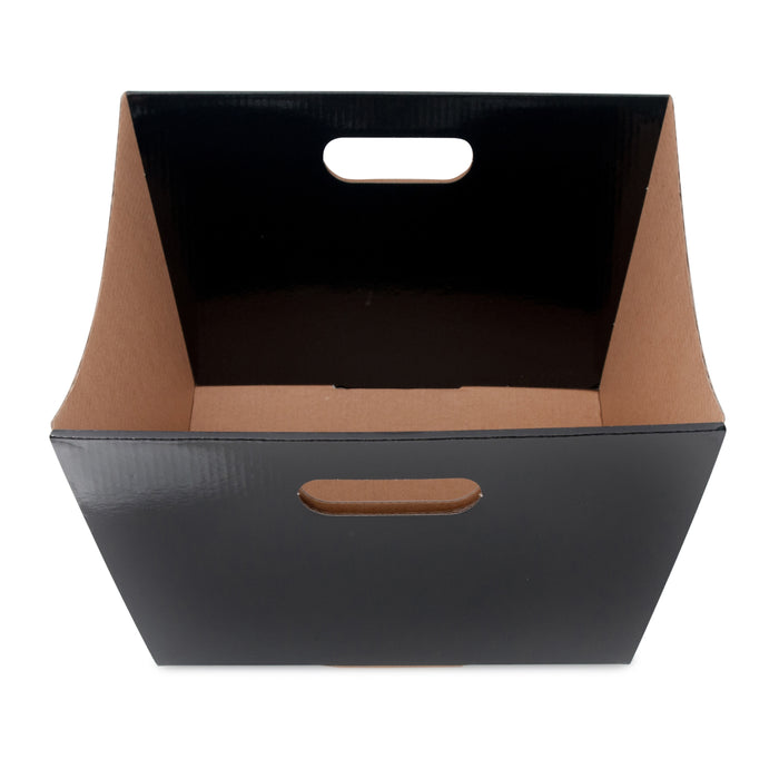 Large Deluxe Hamper Tray - Black