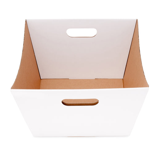 Large Deluxe Hamper Tray - White