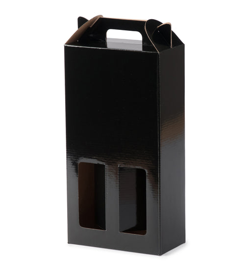 Double Wine Box - Black
