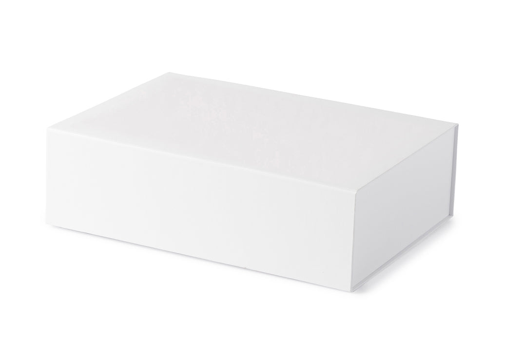 Hamilton Case Box 2 - Matt White Emboss Magnetic Closure (ETA 20/01/2021)
