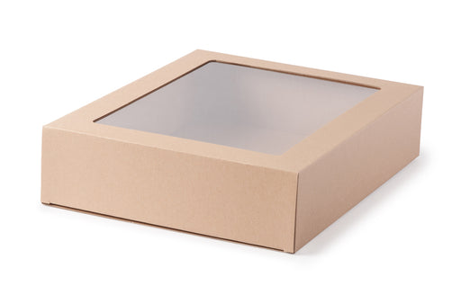 Large Gourmet Display Box - Kraft
