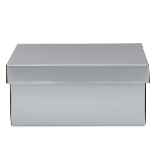 Large Hamper Box - Silver